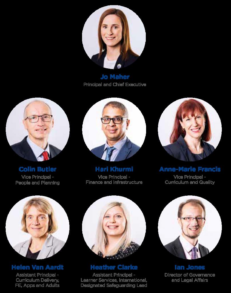 Photos of the executive team